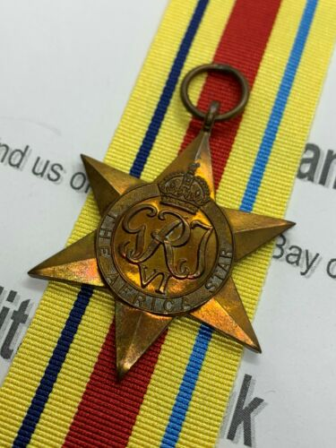 British Campaign Medal Original World War Two Africa Star