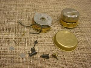 Vintage lot of 2 synchron electric clock motors 1 rpm 110v for Antique electric motor repair
