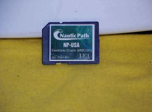 NEW NauticPath NP-USA SD card Latest Version for Eagle or Lowrance GPS