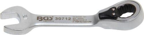 12 mm BGS 30712 Ratschenring-Maulschlüssel kurz