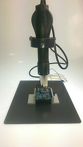 Hot Air Heat Gun Clamp Bracket Holder Repair Platform Rework Soldering Station  633726116306