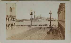 Carlo-Ponti-Panorama-Venezia-Italia-CDV-Foto-Vintage-Albumina-c1860-5