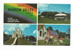 CAVENDISH-PRINCE-EDWARD-ISLAND-multi-view-postcard-showing-Rainbow-Valley