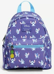 452fbeaf83c Image is loading Loungefly-Disney-Lilo-amp-Stitch-Poses-Mini-Backpack-