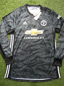 Manchester United 2019/2020 Black Goalkeeper Shirt - Size Large Mens - Brand New