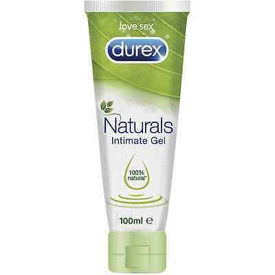 Nuevo Lubricante Intimo Durex Naturals Gel 100ml - Ingredientes 100% naturales