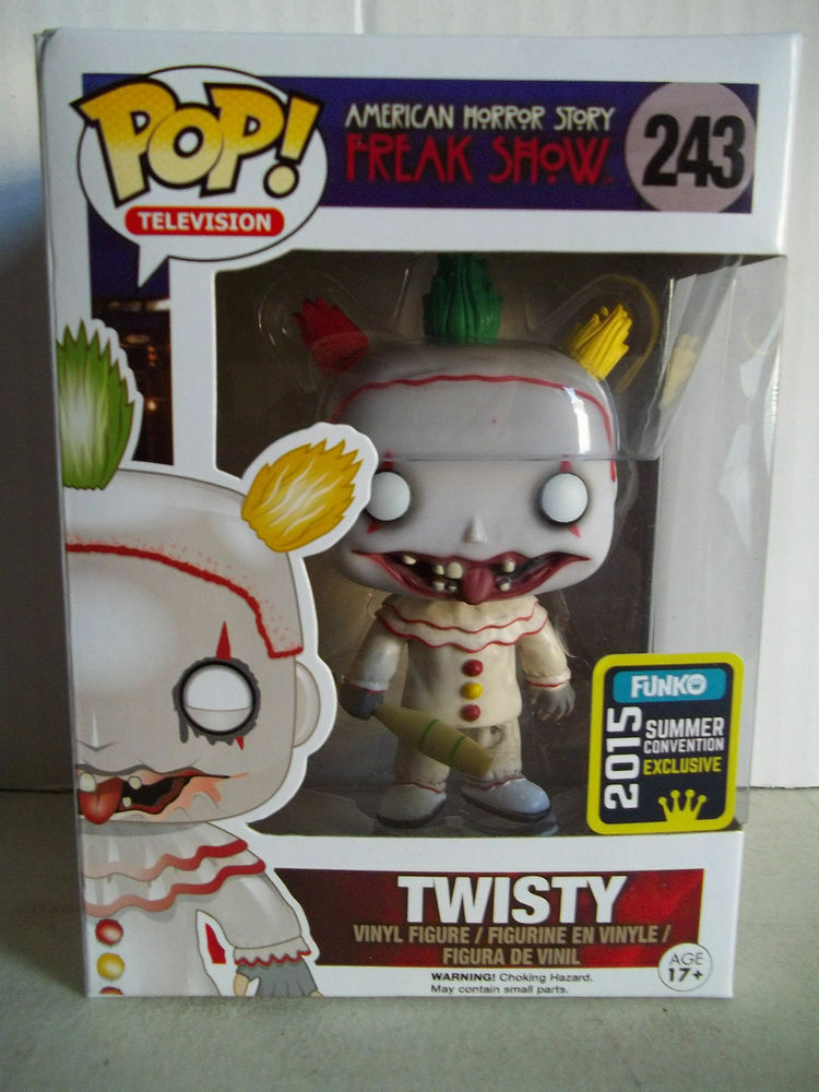 Funko Pop Vinyl Freak Freak Show - Twisty (American Horror Story) Chase SDSCE 2015