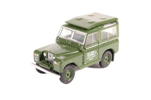 Oxford 1:76 escala Land Rover Serie II SWB teléfonos de la oficina de correos 76LR2S003