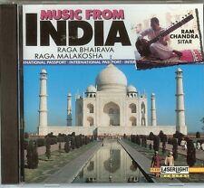 Music From India - Raga Bhairava / Raga Malako (1991) - CD - New