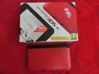 Nintendo 3DS XL Konsole in Blau, Rot, Silber, Schwarz, Animal Crossing New Leaf