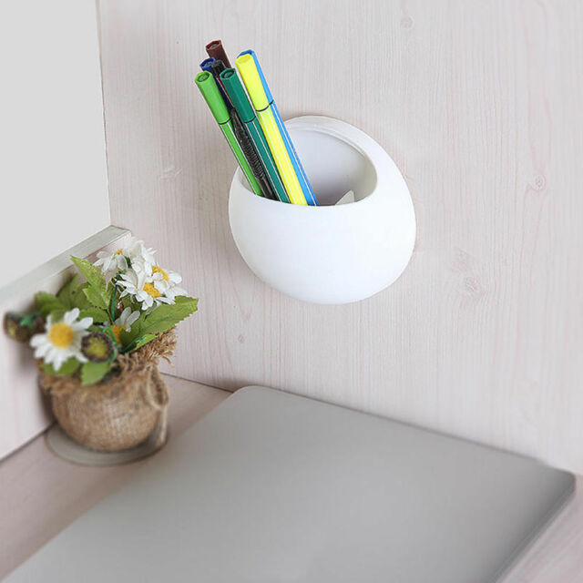 2PCS Toothbrush Wall Mount Holder Home Bath Suckers Suction Toothpaste Storage