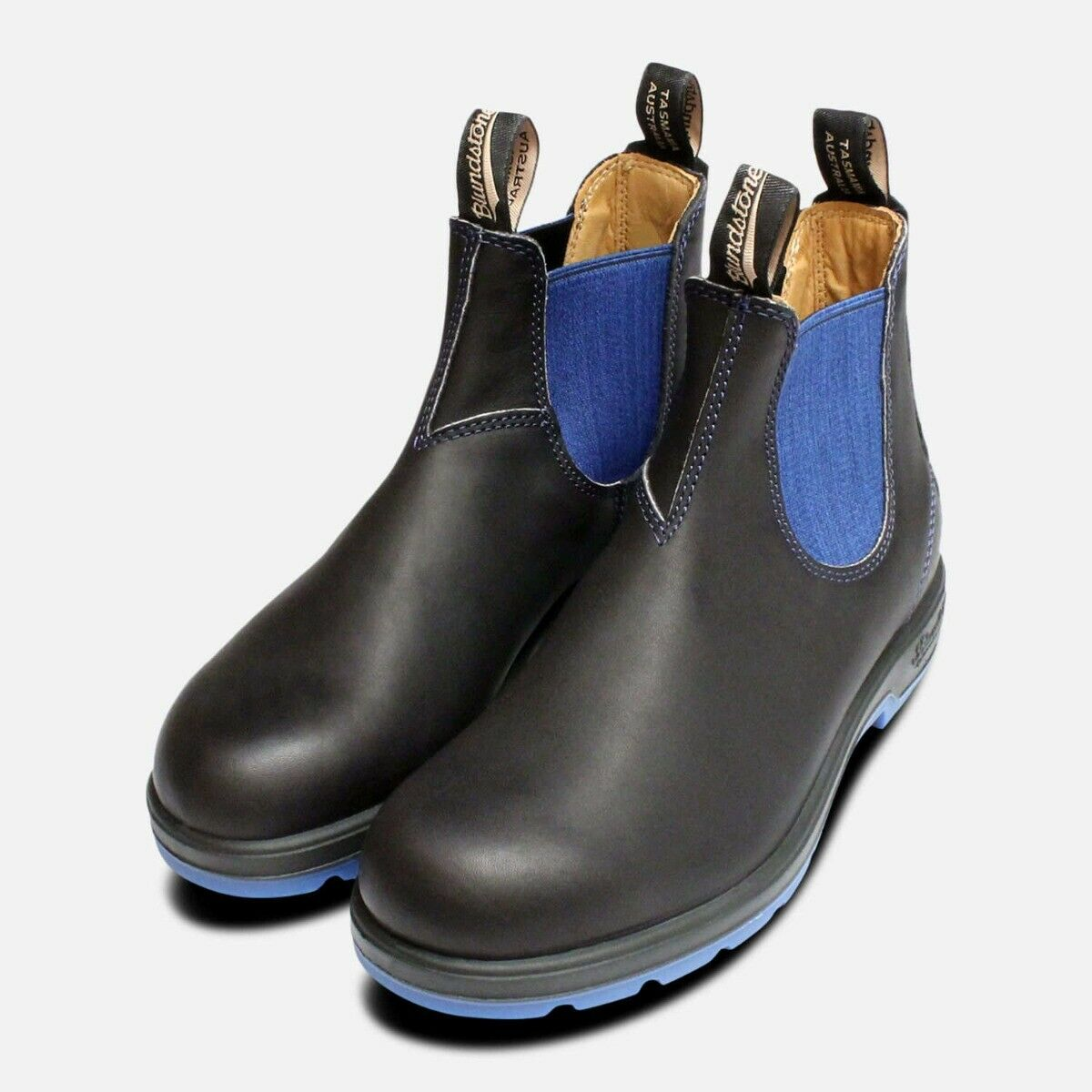 Ladies Blundstone 1403 1403 1403 nero & blu Chelsea 9d7bb1