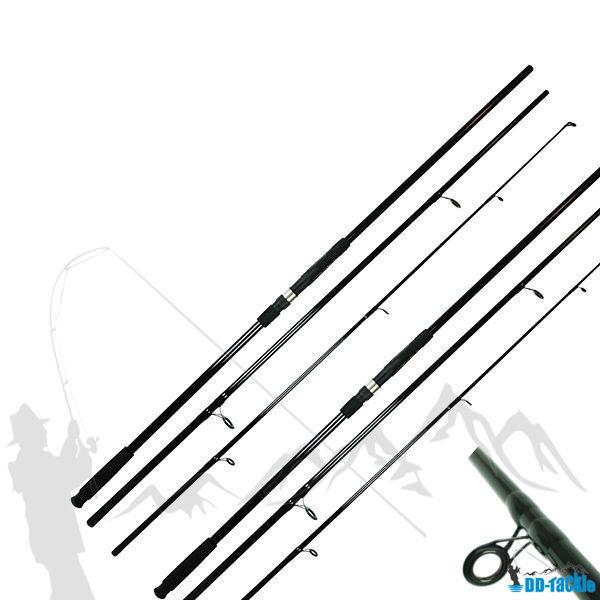 2 x Karpfenrute 3 60m 12 ft 3 teilig 2 75lbs 80-120g WG Karpfen Angel Rute Hecht