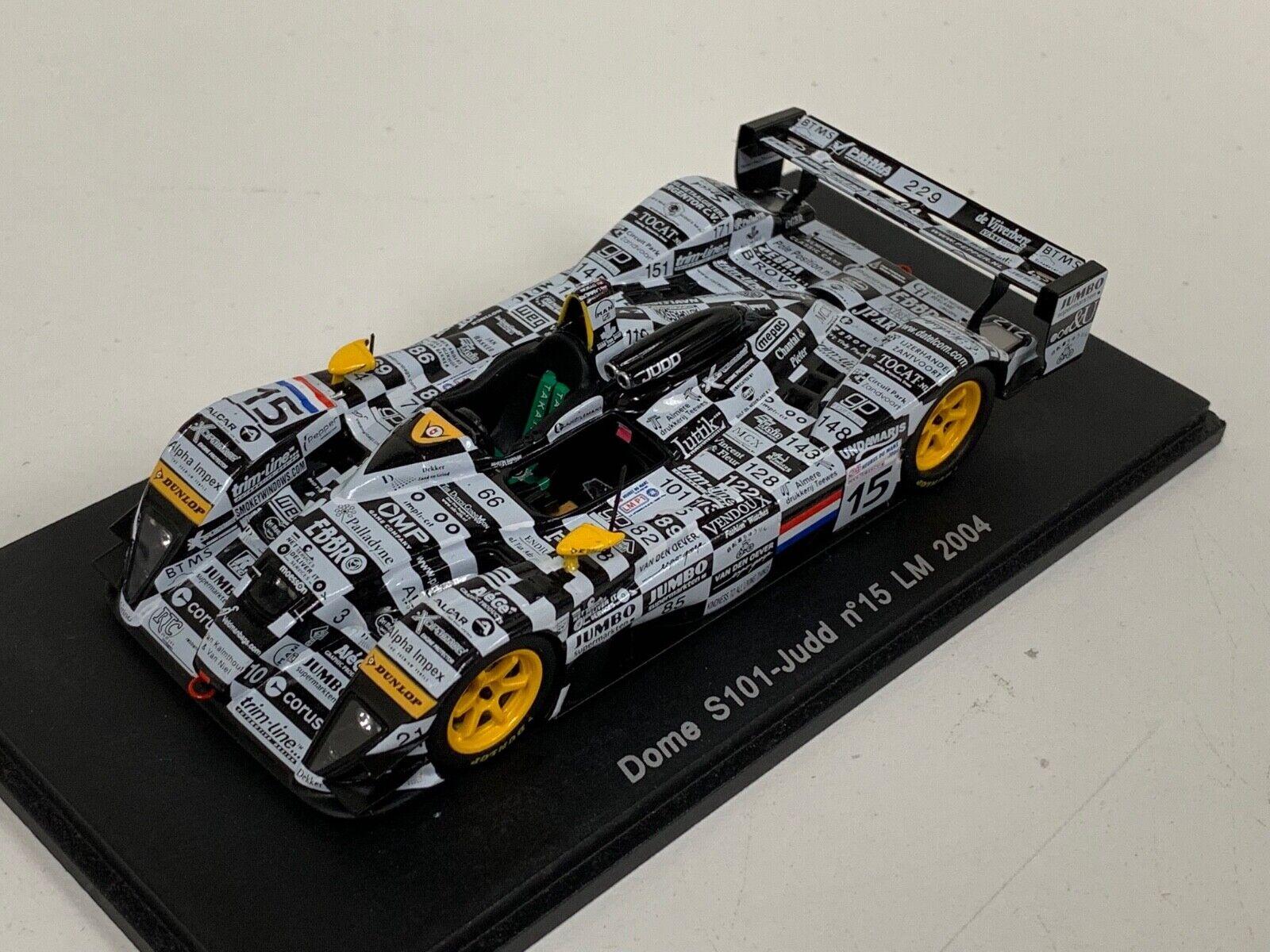 1 43 Spark Models DOME S101 JUDD voiture de  15 24 H DU MANS 2004 S0055