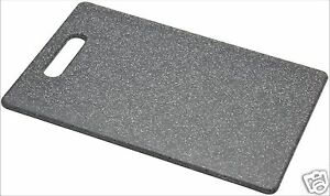 TEW-Granite-Effect-Black-Polypropylene-Chopping-Cutting-Board-Small-Medium-Large