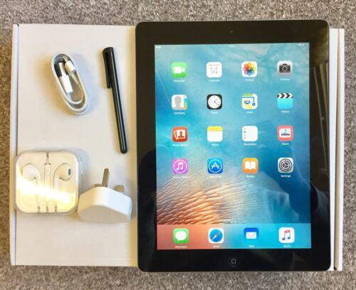 1 of 1 - PERFECT CONDITION Apple iPad 2 16GB, Wi-Fi, 9.7in - Black + EXTRAS