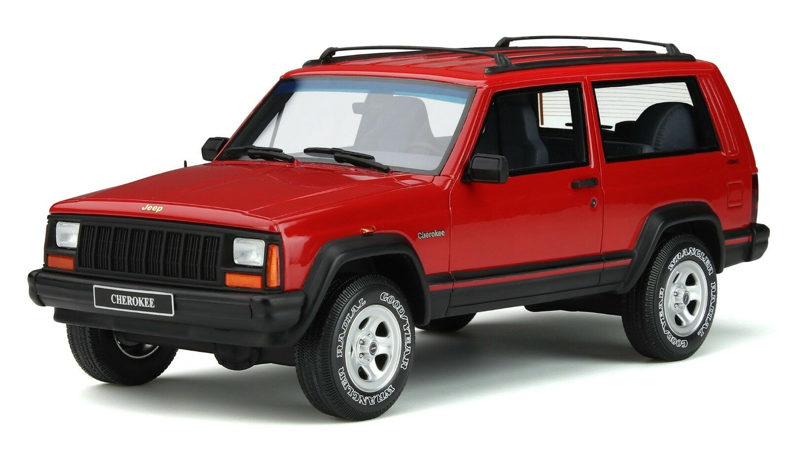 JEEP CHEROKEE SPORT Flame rouge limitée 999 Pièces OTTO MODELS 1 18 neuf dans sa boîte NEUF