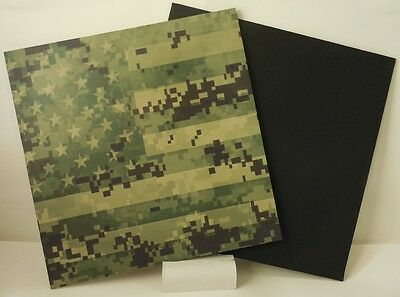 """Painstaking Kydex Infused Green Digital Flag Print 7 7/8"""" X 7 7/8"""" W/black Kydex To Be Highly Praised And Appreciated By The Consuming Public Sporting Goods"""
