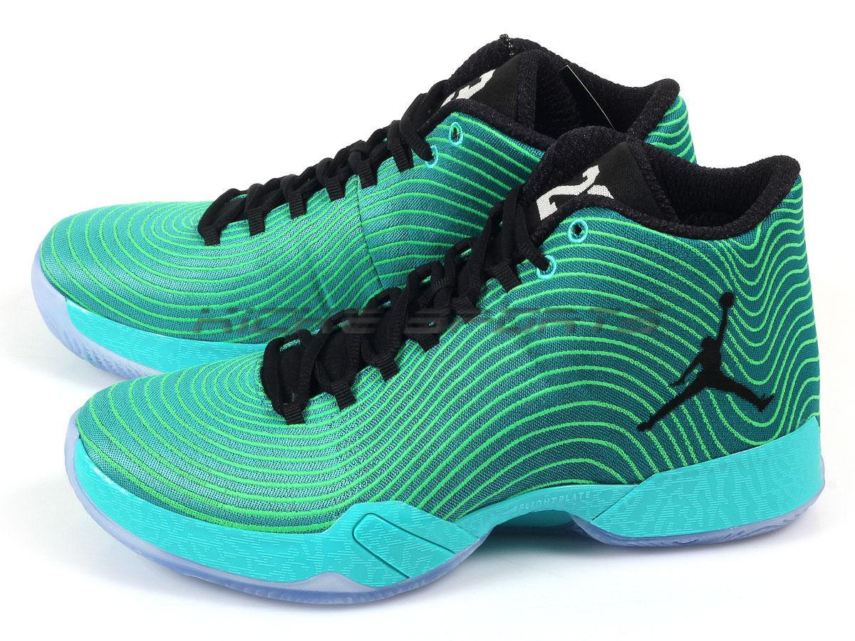 finest selection 2497d e5235 Nike Air Jordan Jordan Jordan XX9 Easter AJ29 Retro  noir -Emerald-Light  Green Spark 695515-403 eb5019