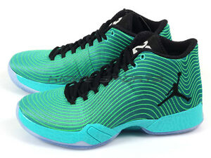36c6cd9a3978 Nike Air Jordan XX9 Easter AJ29 Retro Black-Emerald-Light Green ...