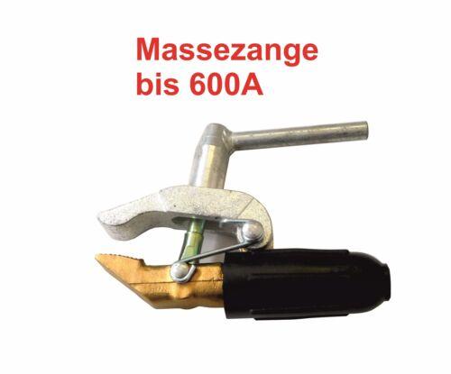 Masseklemme Massezange Erdungsklemme bis 600A