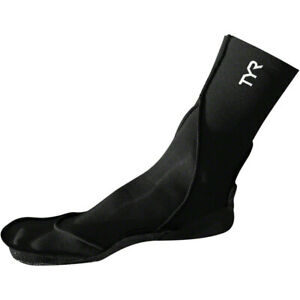 TYR Neoprene Swim Sock Black Large