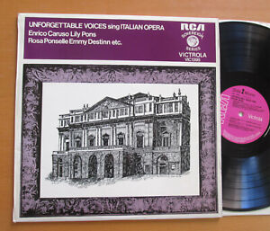 VIC-1395-Unforgettable-Voices-Sing-Italian-Opera-Caruso-Lily-Pons-Ponselle-etc