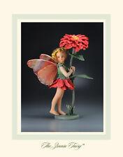 R. John Wright The Zinnia Fairy Doll $825 Retail Brand New in Box Flower Fairies