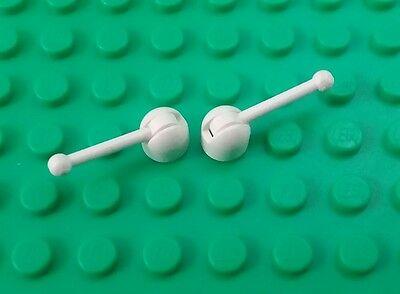 2 pieces *NEW* Lego Aerials Long 1x10 Stud Orange Aerials Control Antennas