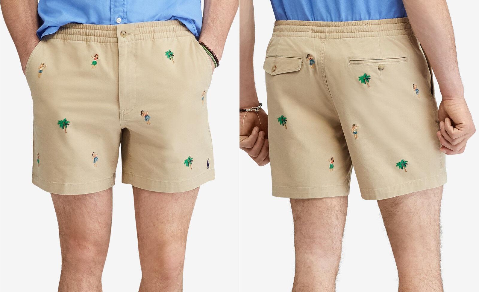 Polo Ralph Lauren Men's Classic Fit Prepster 6  Shorts, Size XL,MSRP