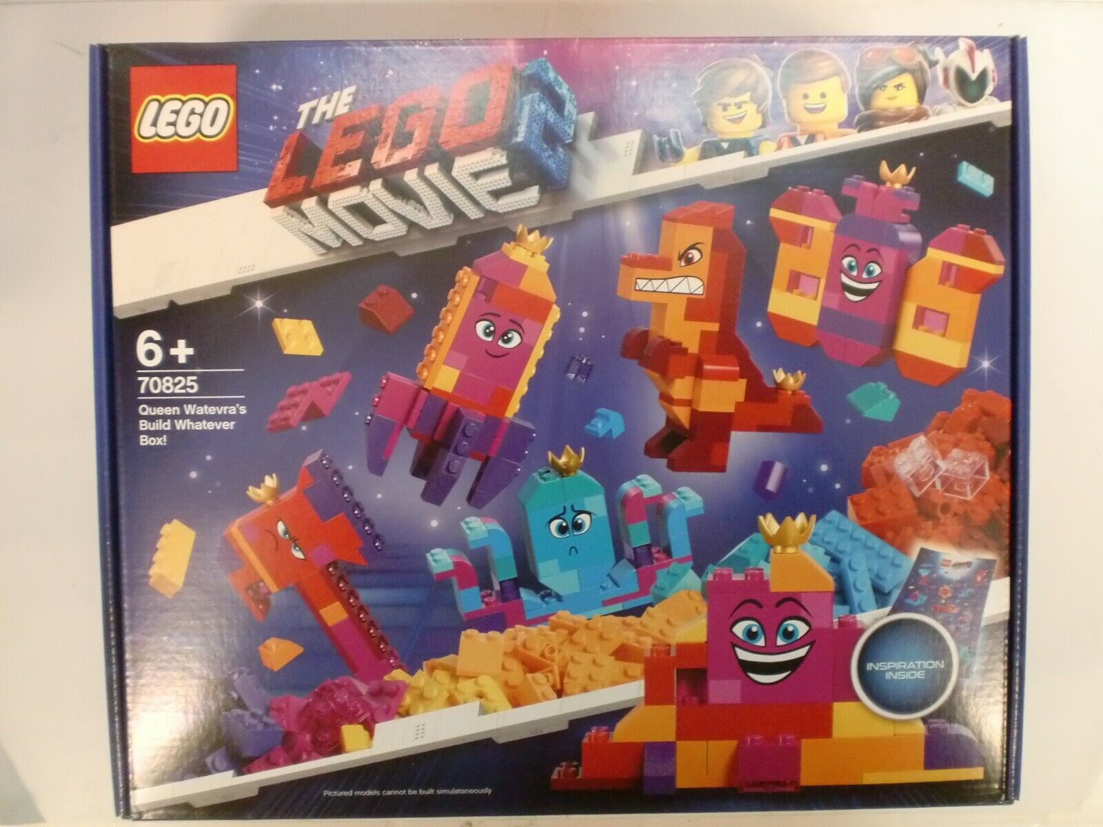 LEGO 70825 - QUEEN WATEVRA'S BUILD WHATEVER BOX - SERIE MOVIE 2
