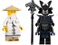 Lego-Ninjago-Minifiguren-Sets-Zane-Cole-Nya-Kai-Jay-GOLDEN-DRAGON-LLOYD-Minifigs Indexbild 44