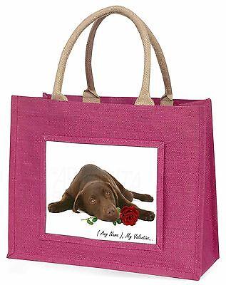 Personalisiert Jede Formulierung Große Rosa Einkaufstasche Weihnachten Presen,