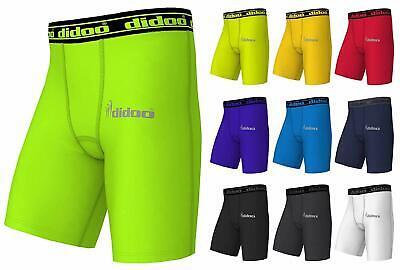 Didoo Mens Compression Base layer Running Sleeveless shirt Top Long tight Pants