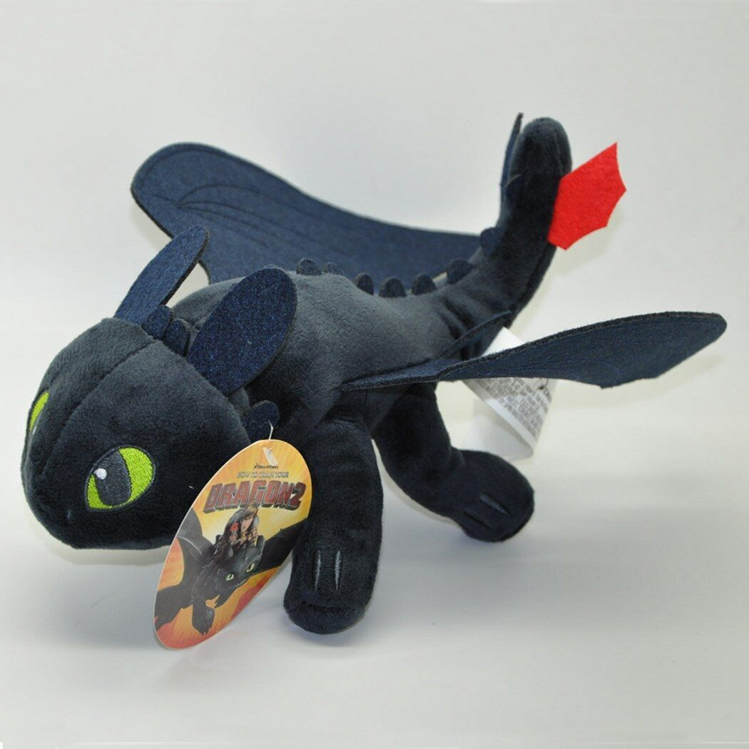 How How How to Train Your Dragon 2 Toothless Plush Soft Toy Night Fury Doll 17 Inch 9c9815