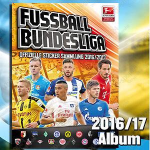 Topps-Fussball-Bundesliga-2016-2017-5-10-20-30-50-100-200-Sticker-aussuchen