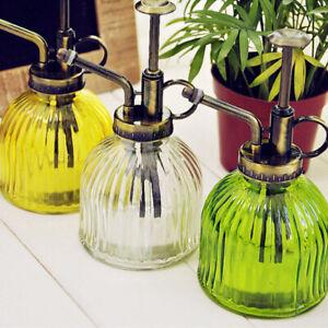 Retro-Glass-Watering-Can-Mister-Garden-Flower-Plant-Spray-Bottle-Gardening-Pot-B