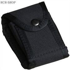 MFH Handschellenetui Security Nylonetui Tasche mit Gürtelschlaufe schwarz
