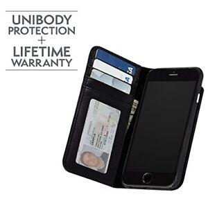 more photos 320f0 065aa Details about Case-Mate Wallet Folio Black leather iPhone 8/7/6s/6 Plus  series case CM034810X