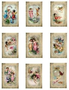 Fabric Block Jewels /& Flowers Collage Cotton Free Shipping DISCOUNT LOT