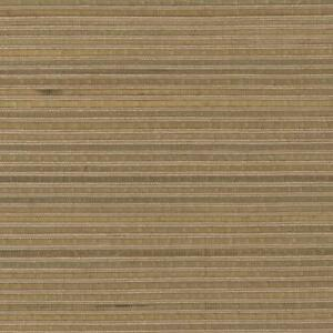 Wallpaper-Designer-Tan-amp-Green-Bamboo-With-Brown-Real-Grasscloth