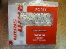 """SRAM PC991 9 Speed Chain 114 Link  /""""CrossStep Version/"""" With Power Lock 297g"""