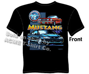 Mustang T Shirts Ford Shirt Mustang Apparel Classic Car
