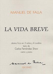 MANUEL DE FALLA LA VIDA BREVE PDF