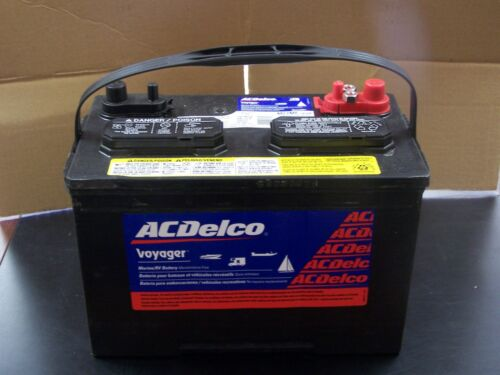 ACDELCO M27MF Voyager Marine RV Deep Cycle Sealed Battery PICKUP ONLY MIAMI FL