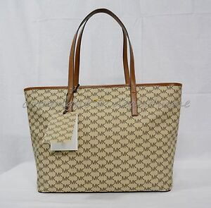 d3771d0316ac Image is loading Michael-Kors-Studio-Heritage-Signature-EMRY-Large-Top-