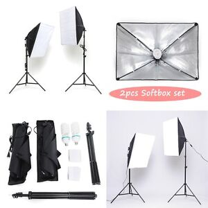 profi fotostudio set 135w studioleuchte softbox diffusor. Black Bedroom Furniture Sets. Home Design Ideas