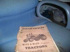 Minneapolis Moline M670 Super Repair Manual White Oliver R2110b