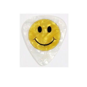 Smiley-Face-Guitar-Picks-Smile-Cheer-Happy-Positive-Love-Cheerful-Pearl-Pick-Pk