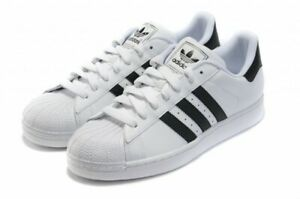 Details about adidas Originals Superstar 2 Men's Trainers White/Black Very Big Size